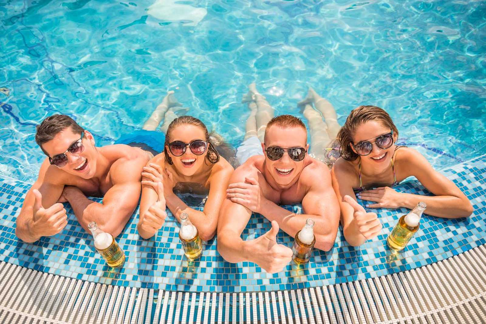 Festa di compleanno in piscina a Roma e provincia