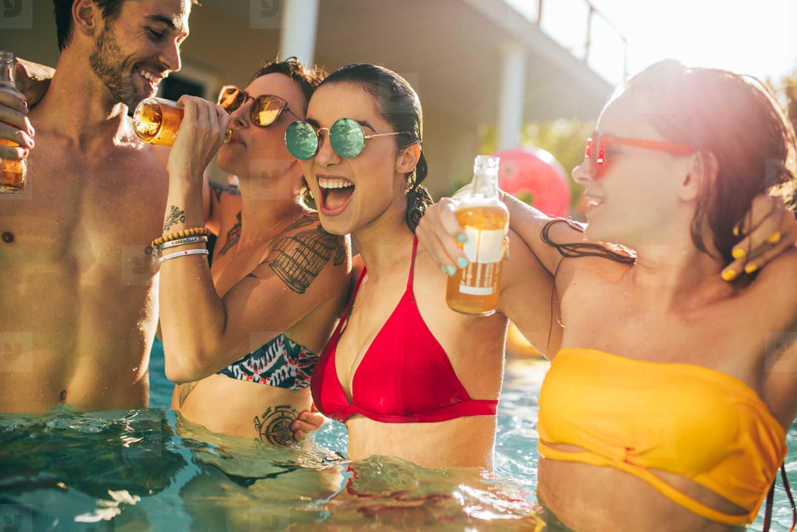 Festeggiare in piscina il tuo compleanno a Roma